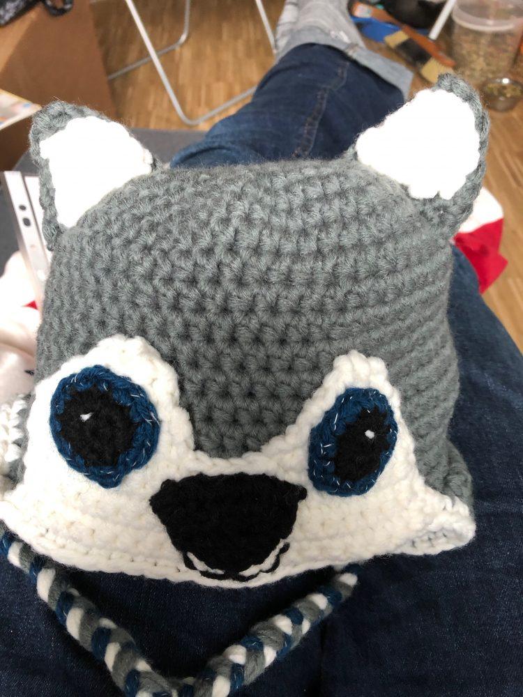 Husky-Mütze